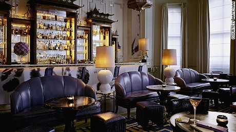 London's Artesian Bar has slipped from the top spot to outside the top 50.
