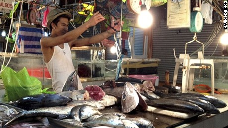 In Manila's famed dampas, everything smells fishy.