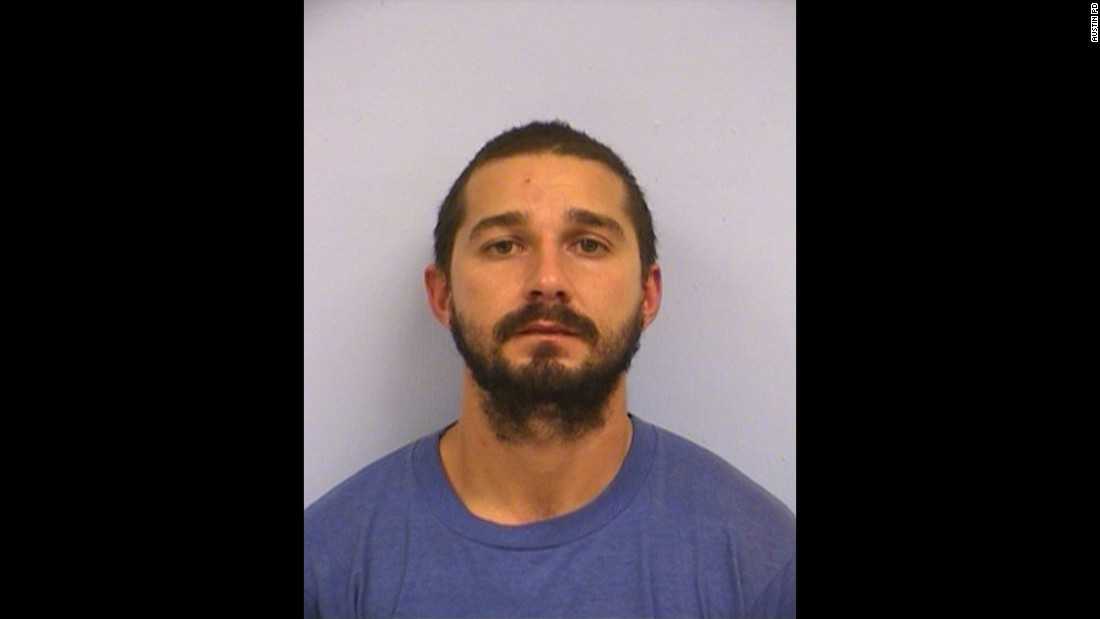 "In his latest run-in with the law, actor Shia LaBeouf <a href=""http://www.cnn.com/2015/10/10/entertainment/shia-labeouf-arrested/index.html"">was arrested</a> in Austin, Texas, on October 9, 2015,  on charges of public intoxication."
