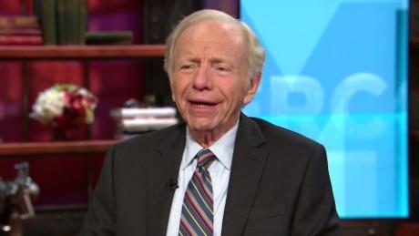 exp Lieberman: 'Don't Bet Against a Clinton'_00013225