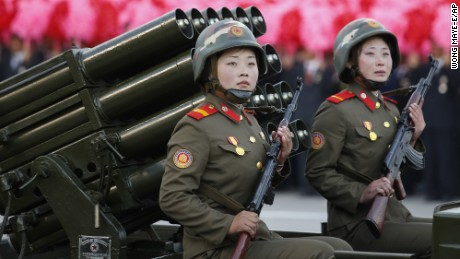 In pictures: North Korea's show of military might