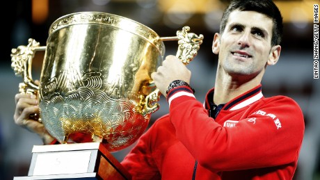 Novak Djokovic has made the China Open title his own with four straight titles in Beijing.
