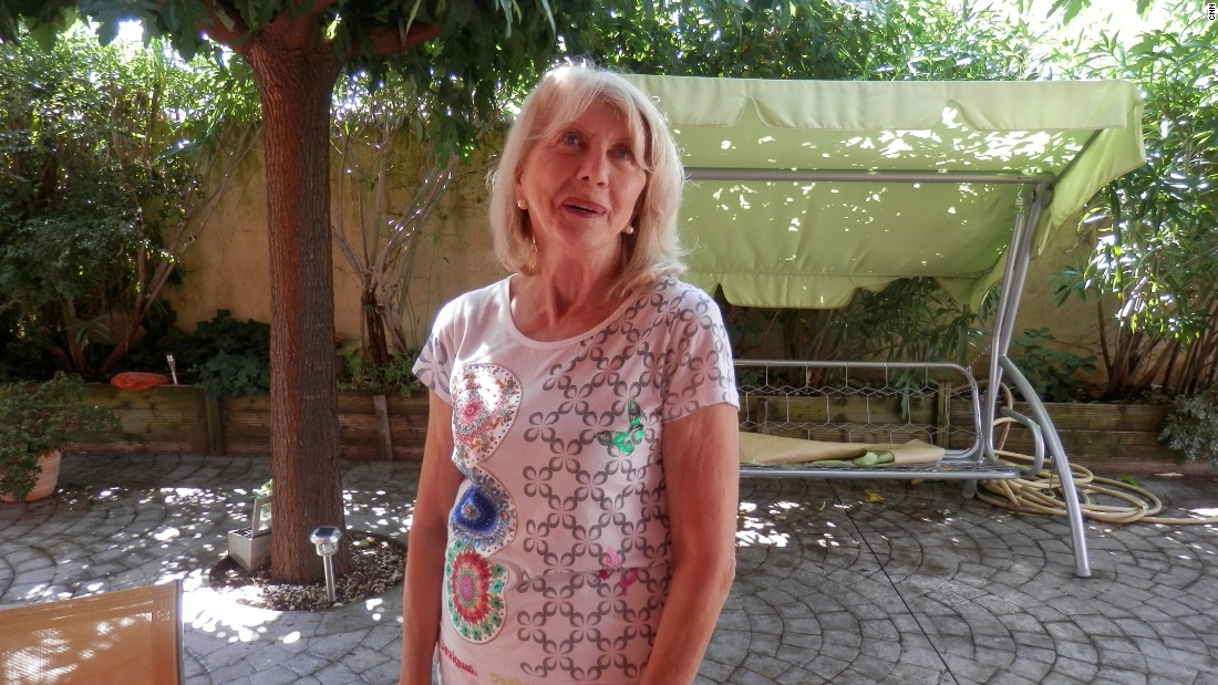 """Bernadette has looked after her husband for the past 34 years. """"It's difficult because it's true that I am no longer young,"""" she says. """"He'll die without being looked after. If I don't do it, who will?"""""""