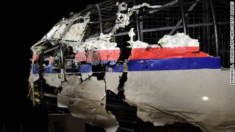 Dutch report: MH17 brought down by missile