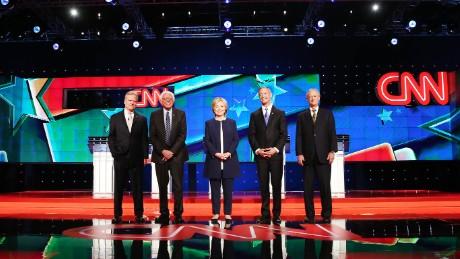 The CNN Democratic Debate at The Wynn Hotel Las Vegas.