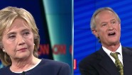Gov. Chafee questions Hillary Clinton's judgement