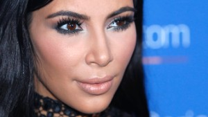 U.S. television personality Kim Kardashian poses during a photo call at the Cannes Lions 2015, International Advertising Festival in Cannes, southern France, Wednesday, June 24, 2015. (AP Photo/Lionel Cironneau)