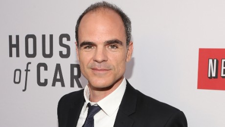 """NORTH HOLLYWOOD, CA - APRIL 25:  Actor Michael Kelly attends Netflix's """"House of Cards"""" For Your Consideration Q&A on April 25, 2013  at the Leonard H. Goldenson Theatre in North Hollywood, California.  (Photo by Jesse Grant/Getty Images for Netflix)"""