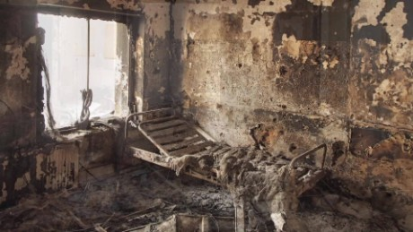Haunting pictures of Kunduz MSF hospital
