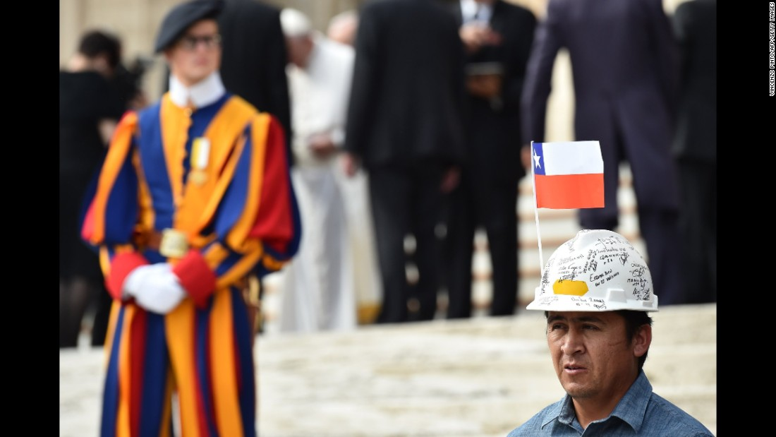 Pope has gifts for Chile miners