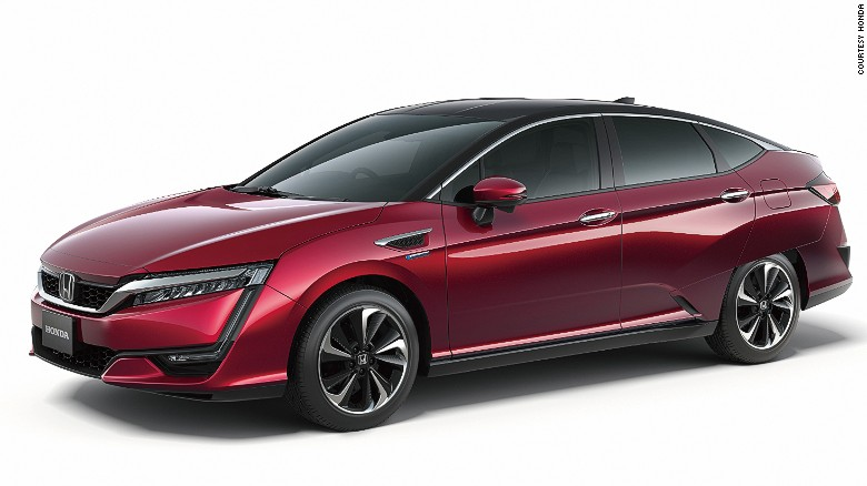 Honda will release the FCV Clarity in spring of 2016, starting with 200 cars in Japan.