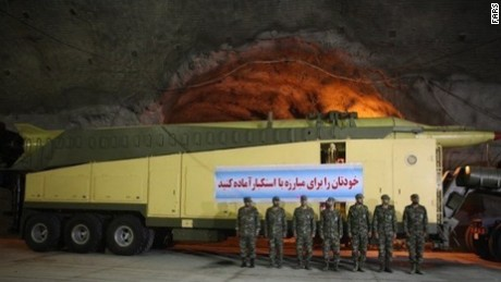 Iran shows secret missile facilities