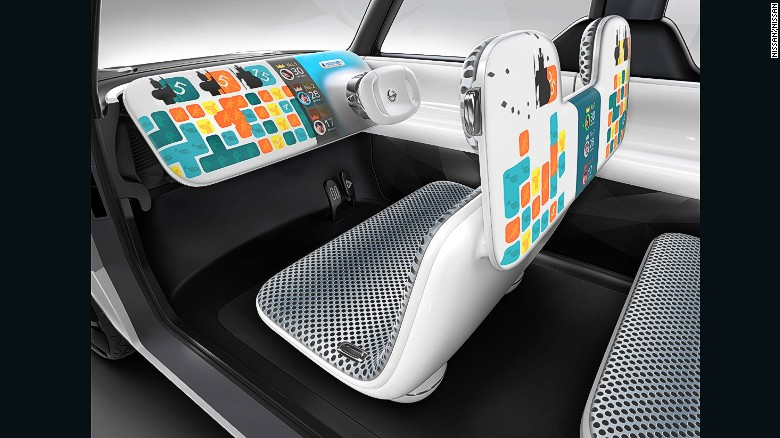 """The Nissan Teatro for Dayz claims to be the first car for """"digital natives."""""""