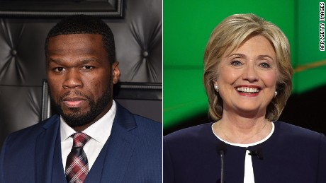 Who have celebrities endorsed for the 2016 election?