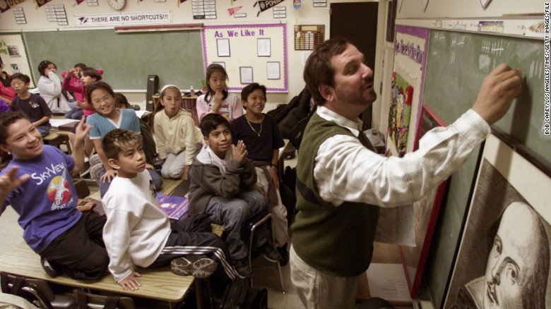 Until April, Rafe Esquith taught fifth grade at Hobart Boulevard Elementary School in Los Angeles.