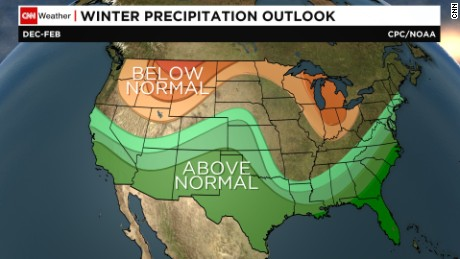Winter outlook: Big snow for some