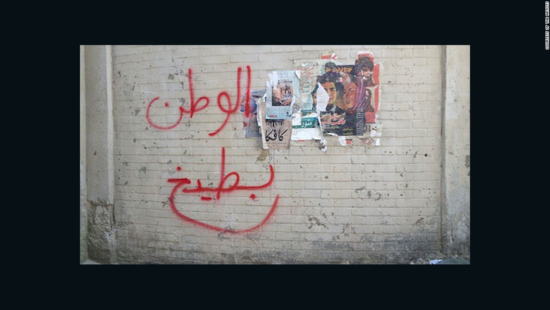 Artists hid message in 'Homeland'