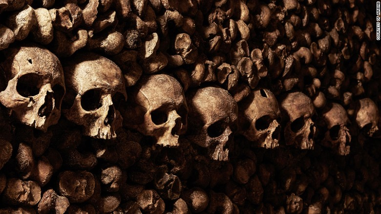 About 500,000 people visit the Catacombs each year -- but none have ever stayed overnight.