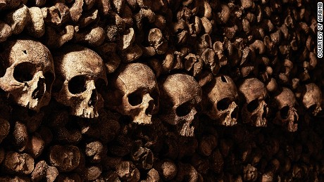Would you dare spend a night in Paris Catacombs?