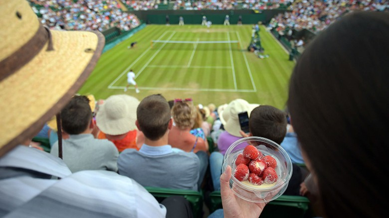 Yes, it's a tennis tournament, but the two weeks a year when the swanky London suburb of Wimbledon draw in the crowds are only partly about sport. The event is also a celebration of old school Britishness that offers ticket holders their own glimpse of a world that's more Downton Abbey than ESPN.