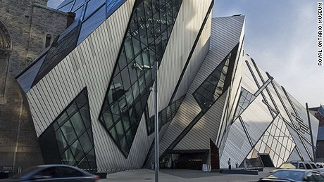 You can see the ROM (pictured) as part of a Toronto Society of Architects tour.
