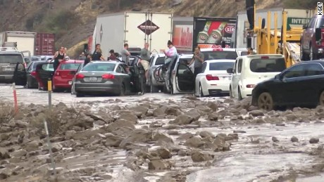 california flooding mudslide trapped drivers dnt_00002012