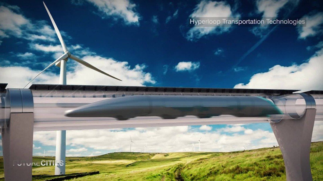 Dubai Eyes Hyperloop-style System