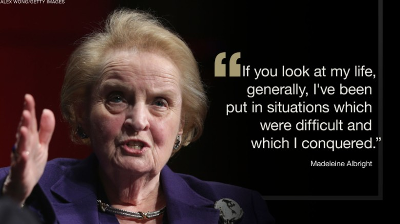 Famous RefugeesMadeleineAlbright