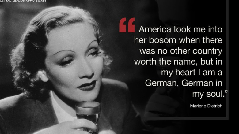 Famous RefugeesMarleneDietrich