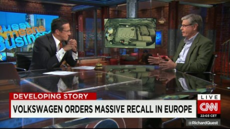 exp Jack Ewing, New York Times, discusses his book proposal on the Volkswagen scandal _00002001