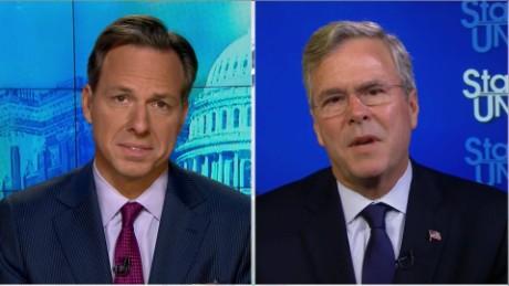 "SOTU Tapper: Jeb Bush: Rubio ""misled"" on fundraising numbers_00001807"