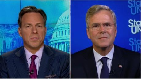SOTU Tapper: Jeb Bush: Don't give Trump U.S. nuclear codes_00022601