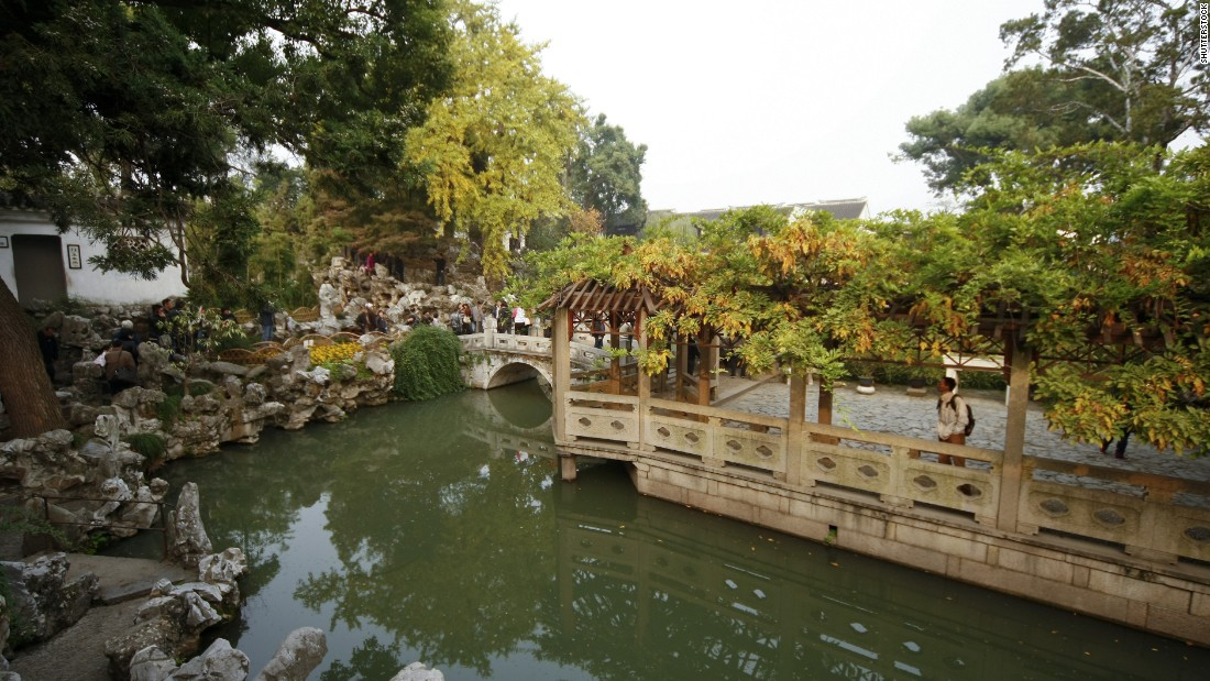 The Lion Grove Garden, located in Suzhou, was first built during the Yuan Dynasty in 1342. The garden was once home to the famed Chinese-American architect, I.M. Pei, and was repurchased by the family in the 1980s. Pei cites the Lion Grove Garden as a prominent influence in his work.