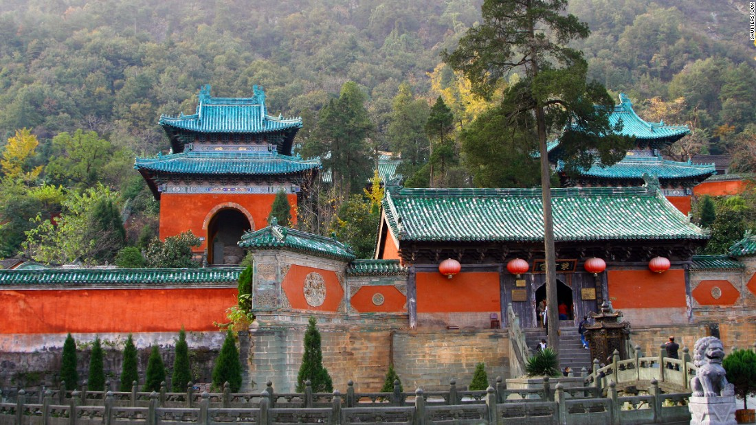 The Purple Cloud Temple is located in the Wudang Mountains, a Taoist temple in Hubei province. Buildings here date back to the 7th century.