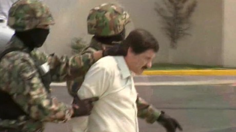 Official: 'El Chapo' fell, broke leg in escape