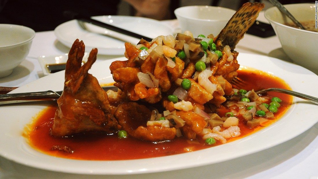 Mandarin fish is the perfect example of Jinling cuisine (what Nanjing food is called locally). Preparation requires delicate skill and there's an emphasis on appearance.