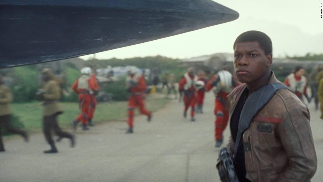 "The cast of ""Star Wars: Episode VII"" -- or should we say ""Star Wars: The Force Awakens"" -- unites well-known names with some up-and-coming actors.John Boyega is best known for the 2011 sci-fi action comedy ""Attack the Block,"" but now he's known as the guy who steals the spotlight in the ""Star Wars: The Force Awakens"" trailer. Boyega was long rumored to be a top choice for the lead role."