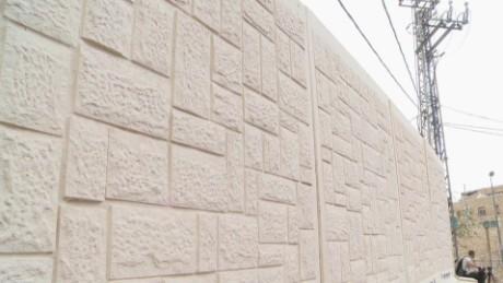 jerusalem police build walls wedeman pkg_00003221