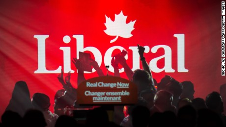 Canada votes first new leader in 10 years as Justin Trudeau's Liberal party wins