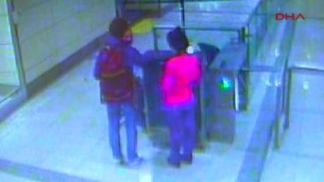 cctv footage former journalist  jacqueline sutton turkey airport_00005529
