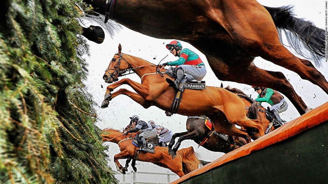 Britain's Grand National is one of the world's most famous races. Held at Liverpool's Aintree racecourse, the steeplechase was first run in 1839 and was won by Red Rum a record three times.