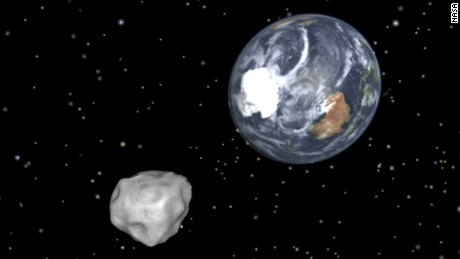 Halloween's asteroid flyby