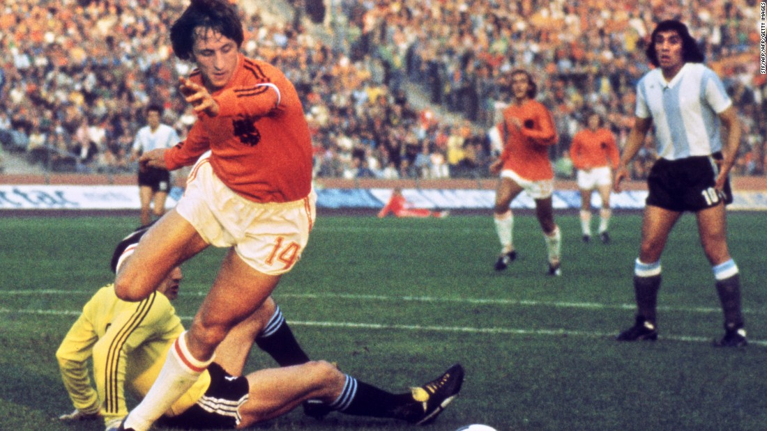 "Cruyff, a highly successful player and manager, is renowned for the ""Cruyff Turn,"" -- a maneuver copied by amateur and professional footballers all over the world for the four decades. He also helped to champion the ""Total Football"" philosophy which made the Ajax and Dutch national teams of the 1970s some of the most revered of all times."