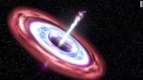 See black hole shred passing star - CNN Video