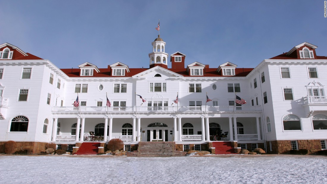 "A stay at the Stanley Hotel in Estes Park, Colorado, helped inspire Stephen King's 1977 bestseller ""The Shining."""