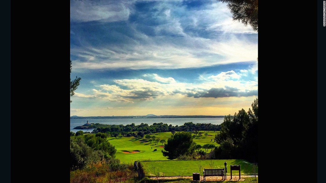 "This snap sent to us by <a href=""https://instagram.com/enderlix/"" target=""_blank"">@enderlix</a> captures the sun's rays piercing through the clouds and into the Mediterranean Sea. ""The club takes its name from a nearby island just off the shore which, complete with its own lighthouse, can be seen from most of the holes,"" the club says."