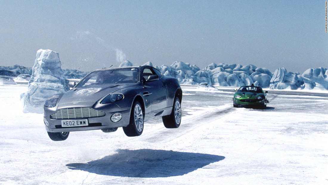 <em>Die Another Day </em>saw in the modern Aston Martin era, and the Vanquish did not disappoint, with bulletproof bodywork, heat-seeking missiles and more. <br />