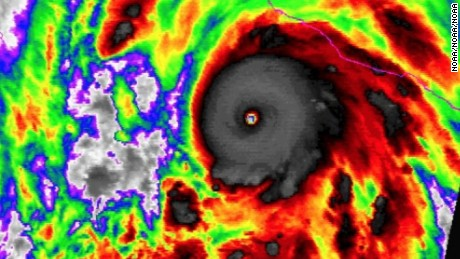 """With 200-mph sustained winds and even more powerful gusts, Hurricane Patricia was the strongest hurricane ever recorded by the U.S. National Hurricane Center as it bore down Friday on Mexico's Pacific coast. The Miami-based meteorological center, in its 8 a.m. advisory, warned of a """"potentially catastrophic landfall in southwestern Mexico"""" later Friday. While its strength could fluctuate, """"Patricia is expected to remain an extremely dangerous Category 5 hurricane through landfall."""" Patricia has potential to cause massive death and destruction to a large swath of the Mexican Pacific coast, including the tourist hot spots of Puerto Vallarta and Acapulco."""