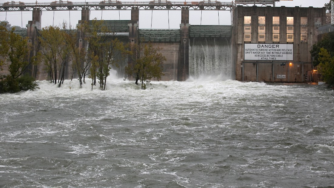 ... to relieve possible flooding on Lake Austin on October 24 in Austin