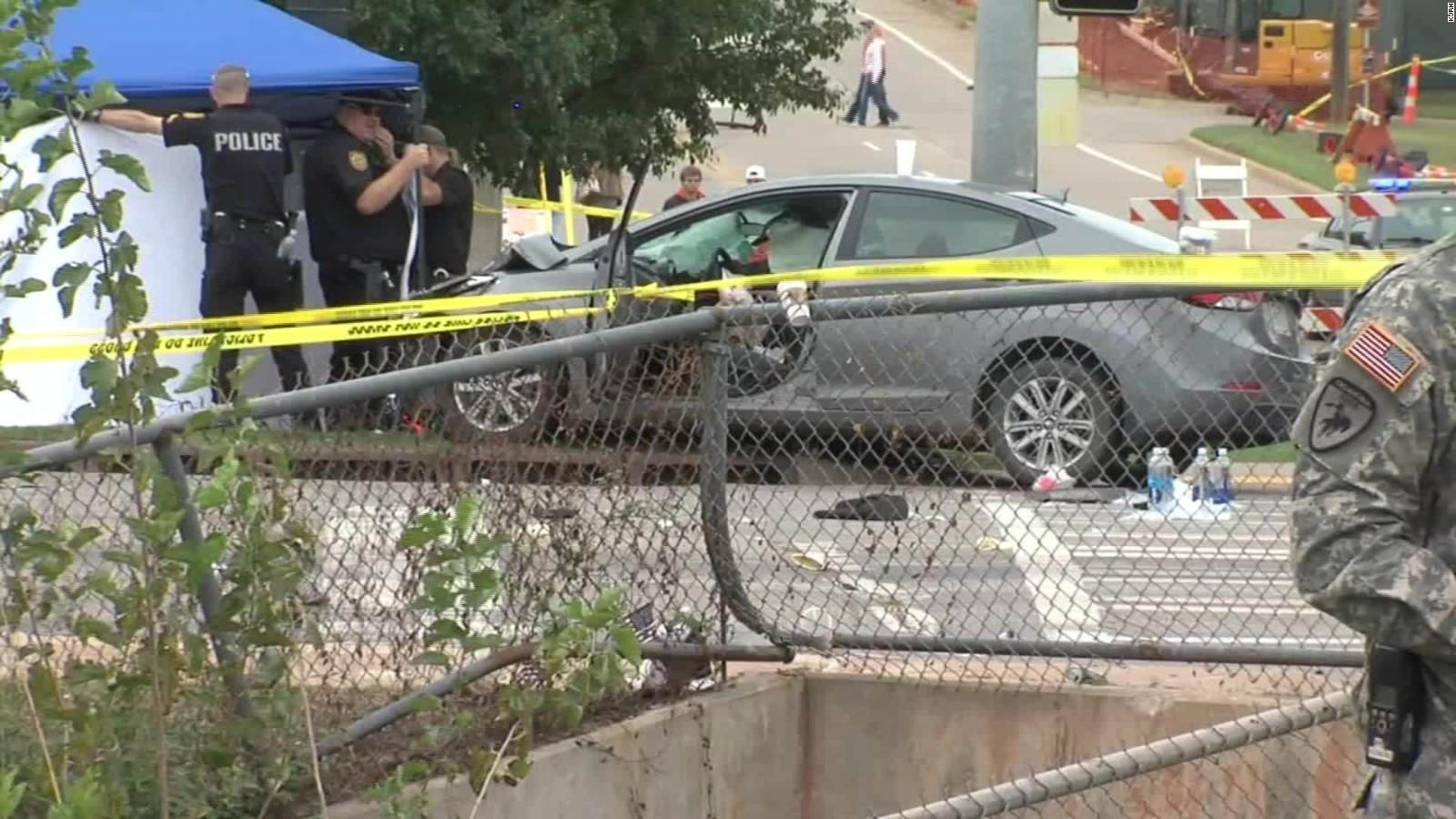 4 killed, 44 hurt when car hits crowd at Oklahoma State parade